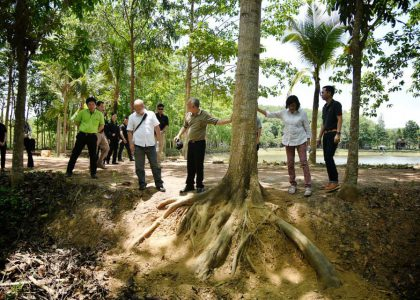 Representative Indonesia Government visit Be Green R&D Plantation