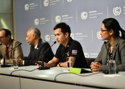 Be Green Group hold the press conference about The Emission Zero Global Project in Indonesia